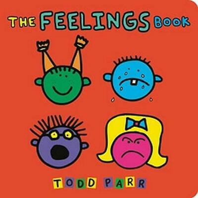 The Feelings Book by Todd Parr (English) Board Books Book Free Shipping!