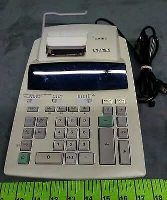 casio dr 250hd tax and exchange electronic printing calculator used rh picclick com