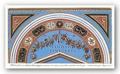 Museum Art Print Detail Loggia In The Vatican I Sanzio Raphael