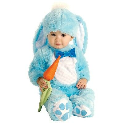Handsome Lil Wabbit Costume Baby Plush Fuzzy Bunny Rabbit Newborn Easter
