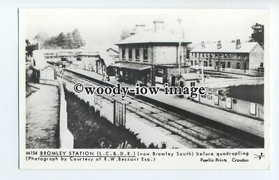pp1988 - Bromley Station (L.C.&.D.R) now Bromley South - Pamlin postcard