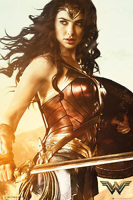 FP4374 WONDER WOMAN Sword    Maxi Size Wall Poster size 61 X 91.5 cm