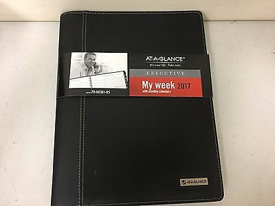 AT-A-GLANCE Weekly / Monthly Appointment Book  Planner 2017, Executive