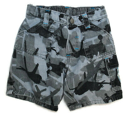 DISNEY Boys Spring Summer PLANES Elastic Waist Shorts Bottoms COTTON Sz 24 Mo