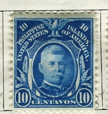 PHILIPPINES:   1908 early portrait issue used 10c. value