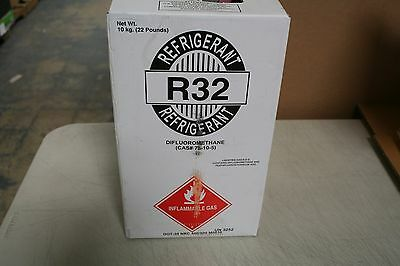 R32 Refrigerant 22 Lb tank  PICK UP ONLY  Inflammable Gas New Factory Sealed