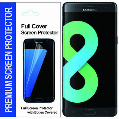 For Samsung Galaxy S9 / S8 / S9 S8 Plus Full Coverage TPU Clear Screen Protector