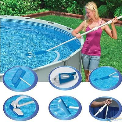Cleaning Kit Deluxe For Water Pools Auction Net Brush 28003 Intex