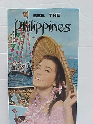 1960's THE PHILIPPINES / Travel Brochure  /  Excellent Condition
