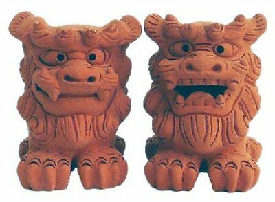 NEW Shisa Standing Front Okinawa Ryukyu Japan Traditional Guardian Lion