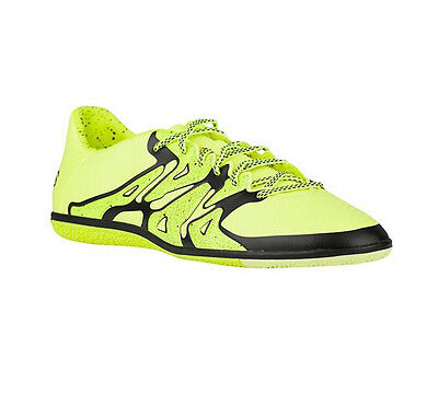 New Adidas Men's Chaos Low IN Soccer Shoe Solar Yellow/Black 10