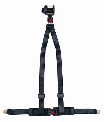Harness - 3 Point Retracting - BLACK SECURON 700/BLACK
