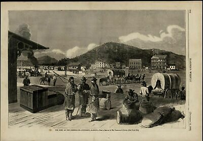 Army of the Cumberland Stevenson Alabama View 1863 great old print for display