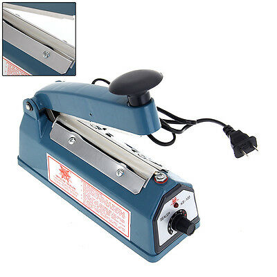 "8"" Heat Sealing Hand Impulse Sealers Machine Poly Free Element Plastic Sealer"