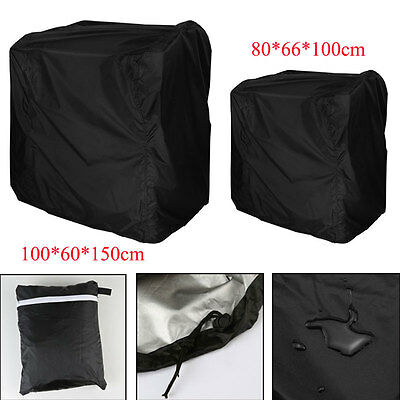 BBQ Cover Outdoor Patio Barbecue Grill Protector Waterproof Rain Snow 2 Size