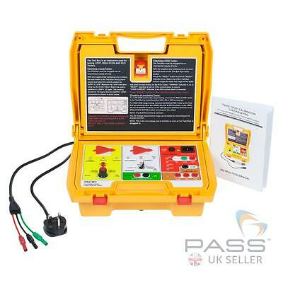 TestSafe TSCB1 17th Edition Calibration Checkbox for Insulation, Continuity, RCD