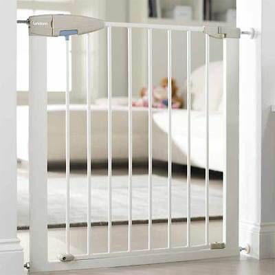 Lindam Sure Shut Porte - Push To Shut - Baby Toddler Safety Gate For Stairs NEW