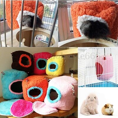 Thick Hammock Ferret Rabbit Rat Hamster Squirrel Parrot Hanging Bed Toy House US