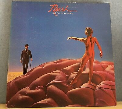 RUSH Hemispheres 1978 Canadian RED vinyl LP EXCELLENT CONDITION