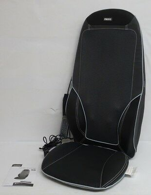 HoMedics Max Shiatsu Massaging Chair Black and Grey RRP 299.99 lot B3126