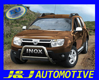 PARE BUFFLE DACIA DUSTER HOMOLOGUE INOX Ø 60mm