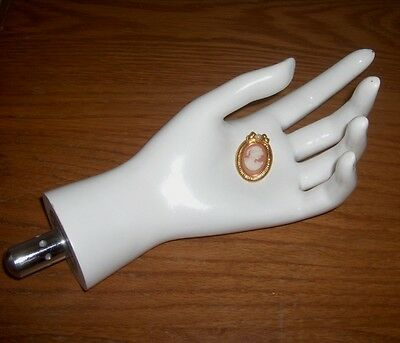 Mannequin Hand Jewelry Display Case Photography Prop Necklace Craft Fair Retail