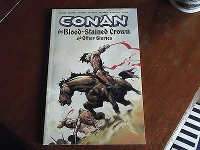 Conan The Blood-Stained Crown And Other Stories - Paperback - Good Condition
