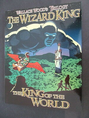 Wally Wood Wizard King Trilogy: The King of the World softcover  Vanguard 2004