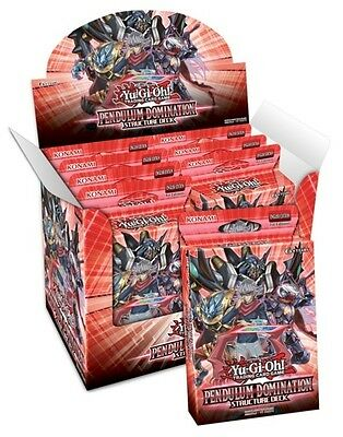 YU GI OH TCG PENDULUM DOMINATION STRUCTURE DECK SEALED BOX 8 DECKS #smar17-134
