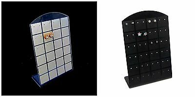 48 Hole Stud Earring Display Stand / Rack Showcase Holder Jewellery Making ML