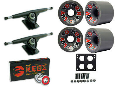 RANDAL 180 TRUCKS LUV YO MUTHA WHEELS 70mm 84a BONES BEARINGS LONGBOARD PACKAGE