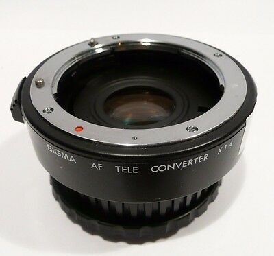 Sigma 5-element 1.4X AF Teleconverter for Sony A Mount / Maxxum  ( READ DES. )