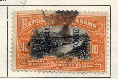 Panama 1915 Early Issue Fine Used 10c. Optd 150320