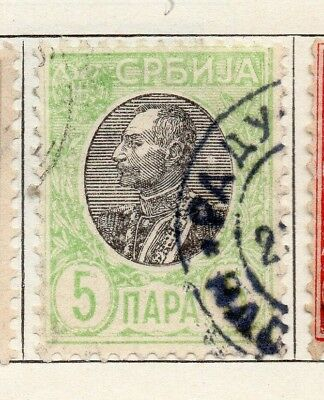 Serbia 1905 Early Issue Fine Used 5pa. 150440