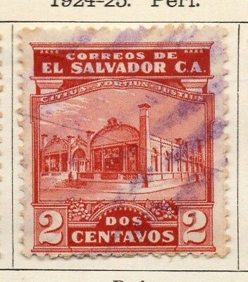 Salvador 1924-25 Early Issue Fine Used 2c. 150559