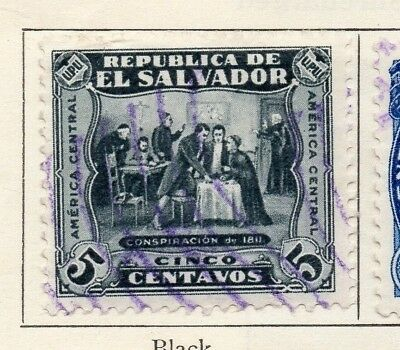 Salvador 1924-25 Early Issue Fine Used 5c. 150561