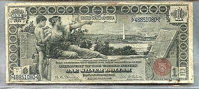 "1896 ~ $1 Silver Certificate Note ~ ""educational"" ~ F"
