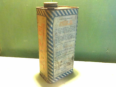 Antique JAY'S MOTOR OIL Tin Litho Can Rare Gas Station Oil Can  *Great Graphics