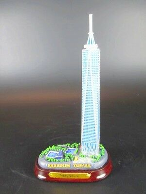 New York Freedom Tower World Trade Center 15cm Poly Model USA America WTC