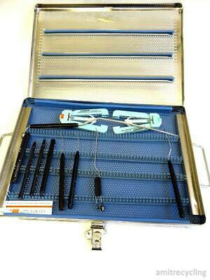 Set of Laserscope Microstat Surgical Laser Handpieces w/ Strl Case