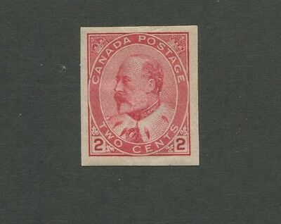 King Edward VII 1903 Canada 2c Postage Carmine Stamp #90a Scott Value $160