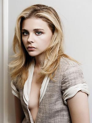 Chloe Moretz Hit Girl Beauty  Movie Actress  Style A Poster 13x19