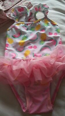 baby girl swimming costume size 6-9 moths