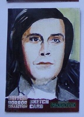 BRITISH HORROR COLLECTION sketch card