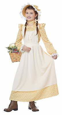 Prairie Girl Pioneer Frontier Child Costume