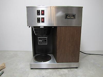 Bunn Vpr Pour O Matic 2 Burner Coffee Brewer Used Works Well Gc Clean