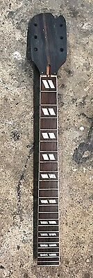 Old 3x3 Electric Guitar Neck Inlay 24.75 Scale Length Stratocaster Heel
