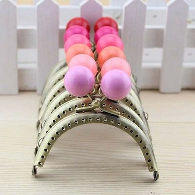 Metal Frame Kiss Clasp  For Purse Handle Bag Candy Bead head 8.5CM/3.35inch