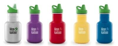 Klean Kanteen - 355ml (12oz) Sippy Canteen - Water/Juice Bottle - KID KANTEEN