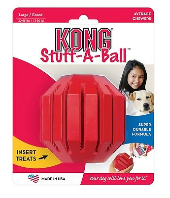 Kong Dog Stuff-a-ball stuff a ball treat dispenser chew teething toy